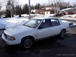 1991 Plymouth Acclaim Sedan Specifications  Pictures  Prices