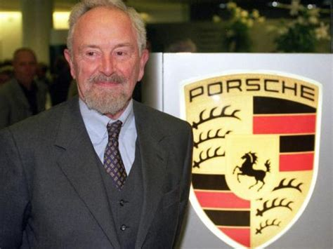 ferdinand alexander porsche ferdinand porsche creator of the porsche 911 design dies