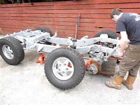 time lapse land rover build part  youtube