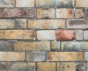 Stein Muster Tapete : tapete steine steinwand braun grau as creation 30256 1 ~ Sanjose-hotels-ca.com Haus und Dekorationen
