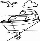 Boat Coloring Row Pages Printable Print Getcolorings sketch template