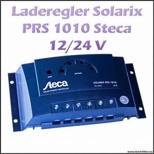 Solar Inselanlage Berechnen : steca solar laderegler 12v 24v 10a solarix prs 1010 f r bleiakku und agm ~ Themetempest.com Abrechnung