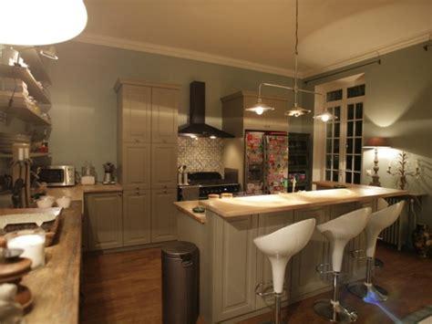 cuisine avec bar arrondi d 233 coration int 233 rieure appartement ouest home cuisine