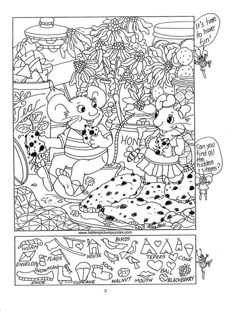 hidden picture puzzles hidden picture puzzles