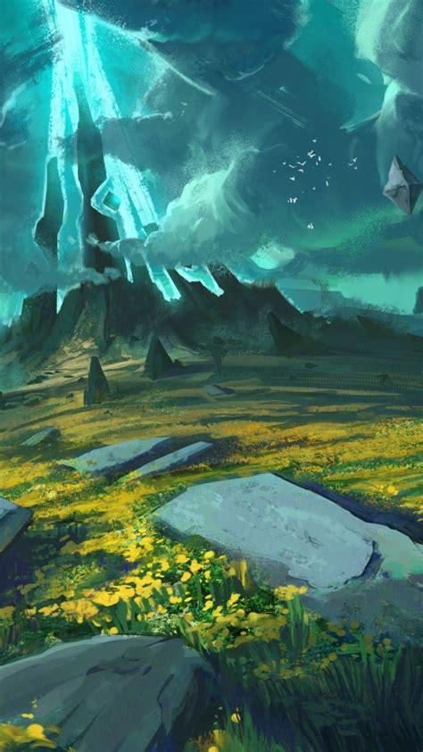 fantasy landscape art  wallpaper sny shamana