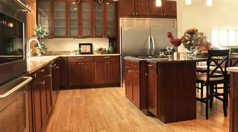 bamboo flooring in kitchen the pros cons of bamboo flooring 4298