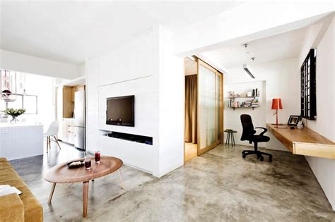 concrete screed   alikes home decor singapore