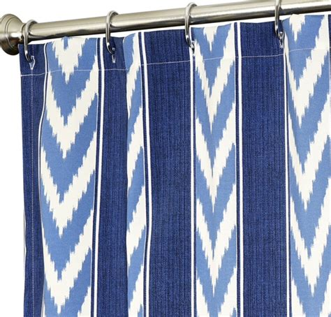 snowders 187 curtains for wide windows blue paisley