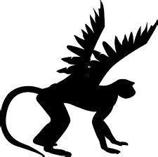 wizard  oz clipart flying monkeys clipground