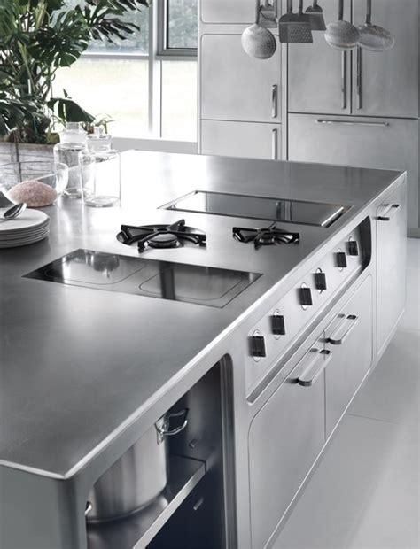ego cuisine cuisine professionnelle en acier inoxydable ego by abimis design alberto torsello