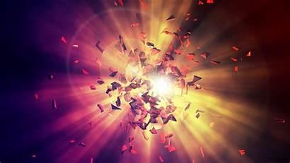 Explosion Energy Shards Sfondi Wallpapers Energia Geistheilung