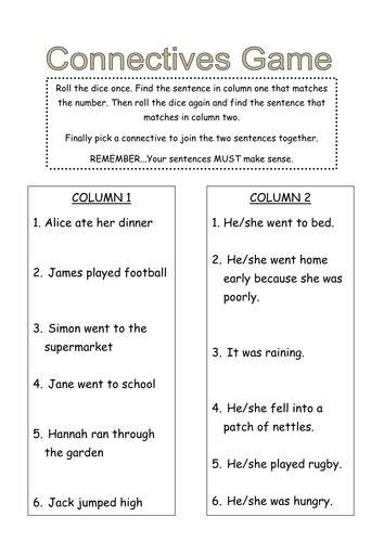 complex sentences by gracereid90 teaching resources tes