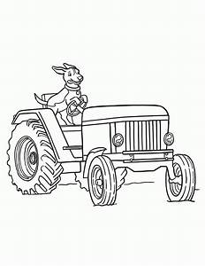 tractor coloring pages to print - farm tractor coloring pages coloring home