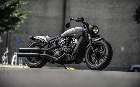 Indian Scout Sixty 4k Wallpapers by Imagens Indian Scout Bobber 2018 Trov 227 O Negro