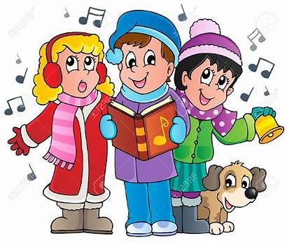 Christmas Clipart Carol Singers Songs Clipground