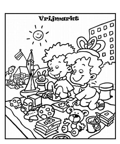Kleurplaat Diploma Beppe by Koningsdag Kleurplaat 2016