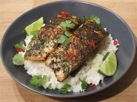 cuisine minute oliver 39 s 15 minute meals green tea salmon recipe