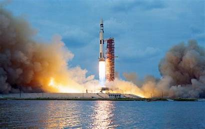 Saturn Nasa Rocket Launch Apollo Scanned Linux