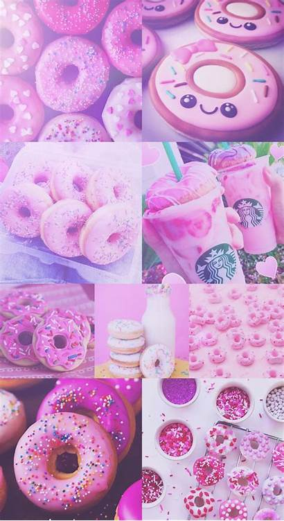 Starbucks Donut Donuts Pastel Wallpapers Backgrounds Purple
