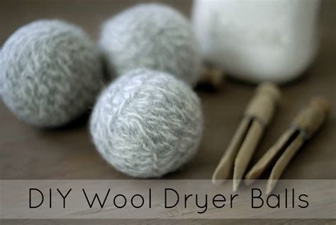 How To Make Wool Dryer Balls  Going Evergreen