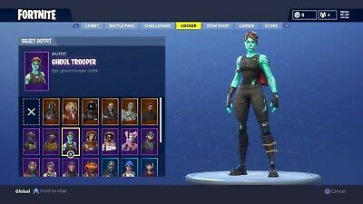 fortnite account  renegade raider ghoul trooper