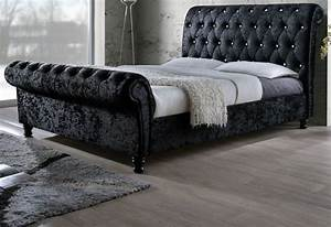 Astounding Bed With Diamante Headboard 44 On Home Remodel ...