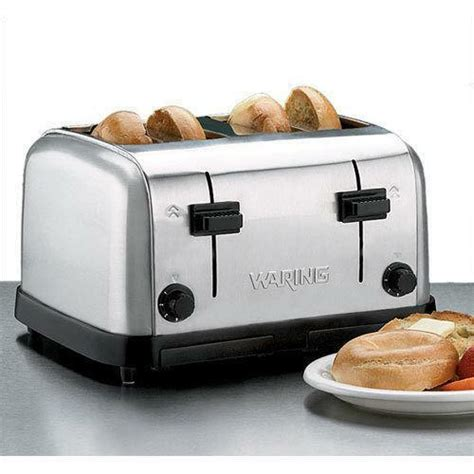 waring 4 slice commercial toaster waring commercial toaster ebay