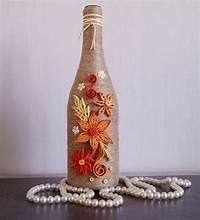 decorating wine bottles wine bottle decor decorated wine bottles home wine by InnArtShop