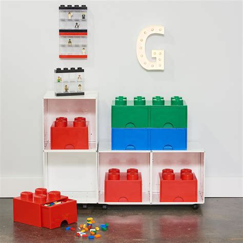 Blue X-Large Lego Storage Drawer   The Container Store