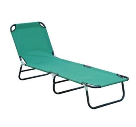 folding sun lounger bathing tanning lounge