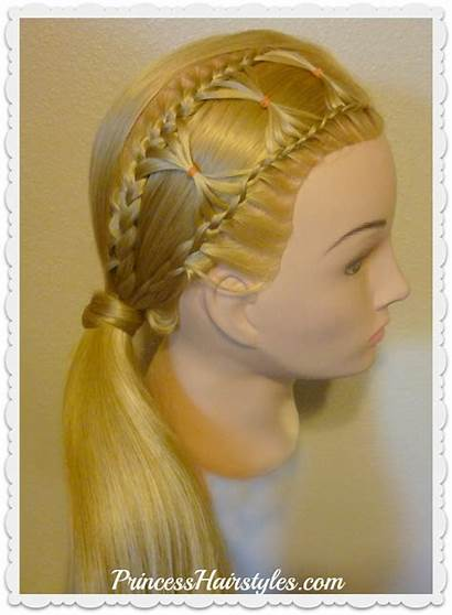 Hair Bow Hairstyle Tie Braid Braided Hairstyles