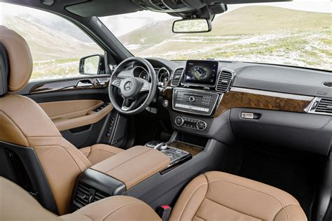 mercedes gls interior 2017 mercedes benz gls is the s class of suvs replaces gl