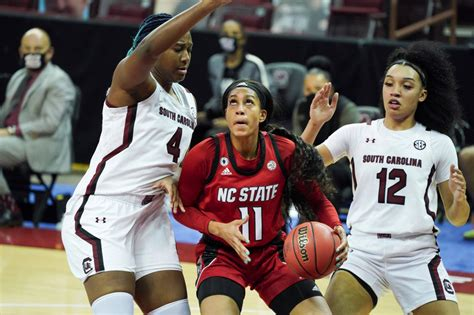 No. 8 North Carolina State women beat No. 1 South Carolina ...