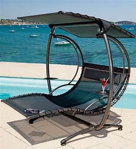 Bain De Soleil Deux Places : balancelle lit suspendu 2 places neo design design ~ Dailycaller-alerts.com Idées de Décoration