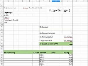 Rechnung Schreiben Excel : rechnungsvorlage f r excel download chip ~ Themetempest.com Abrechnung