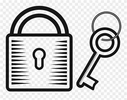 Lock Key Clipart Padlock Drawing Locks Drawings