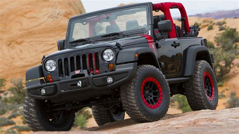 Jeep Wrangler Level Red Concept (2014) Wallpapers And Hd
