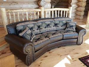 Rustic sectional sofa rustic sectional sofa sofas center for Large rustic sectional sofa