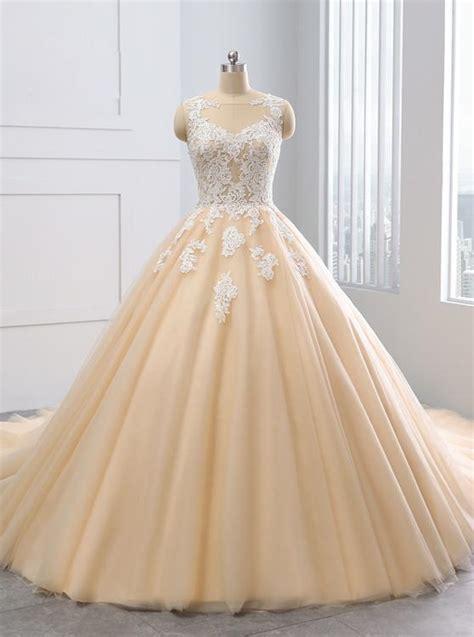 ball gown wedding dressescolored wedding dresstulle ball