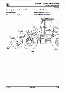 Jcb 446 456 Wheeled Loader Service Repair Manual