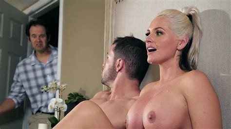 shameless stepmom fucks with stepson in a hot xxx action gets caught by her hubby xxx femefun