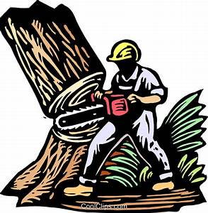 Tree felling clipart - Clipground
