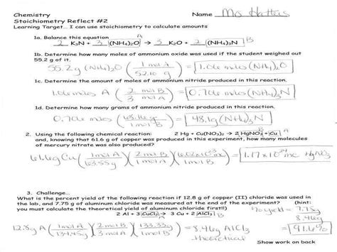 stoichiometry review worksheet answers stoichiometry practice worksheet homeschooldressage