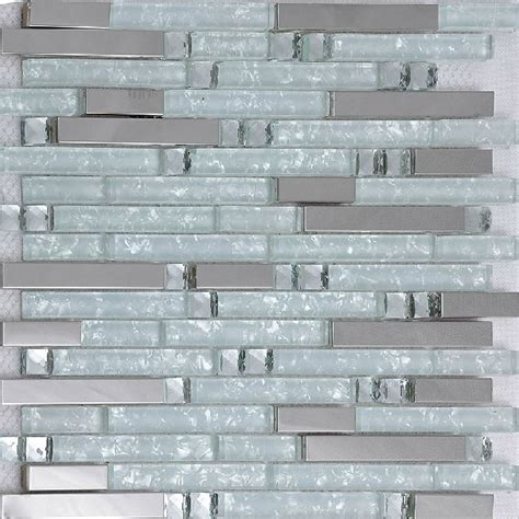 mosaic glass backsplash kitchen silver metallic mosaic tile glass mosaic tile kitchen