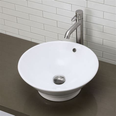 Decolav Sinks Home Depot by Faucet 1435 Cwh In White By Decolav