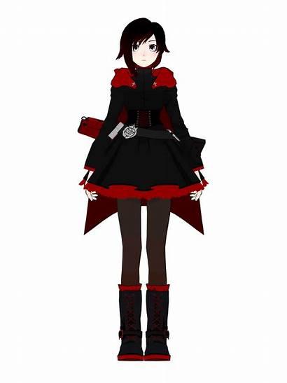 Rwby Ruby Turnaround Rose Anime Cosplay Wikia