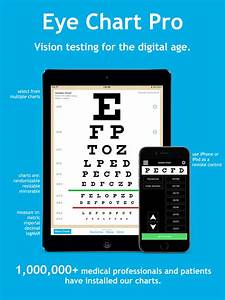 20 25 Vision Chart App Shopper Eye Chart Pro Test Vision And Visual Acuity