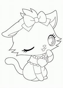 Anime Animals Coloring Pages - Coloring Home