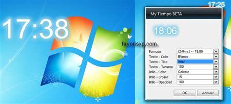 gadgets de bureau windows 7 gratuit chrono gadget windows 7