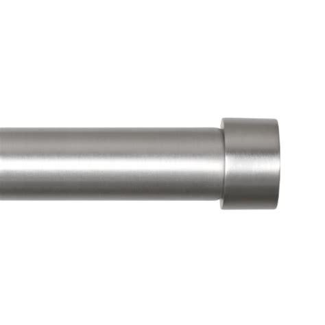 umbra cappa 1 1 4 inch drapery rod for window 72 to 144